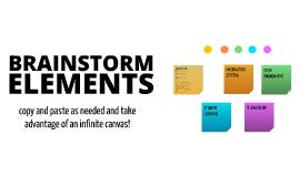 Free Brainstorming Elements by Serge Komadina