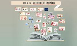 AULA 2 - Atendente de Farmácia
