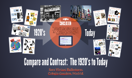 comparison of the 1920s to today 1920s american history essay at life in a whole new way and is very influential to the way society is today gain social equality during the 1920s.