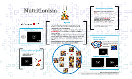 ANSC 227: Nutritionism