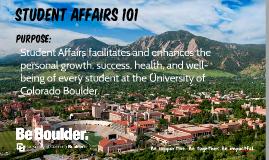 Student Affairs 101