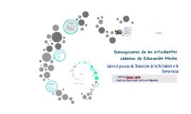 Copia de Concepciones de estudiantes de secundaria chilena