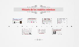 Copy of Historia de los modelos átomicos