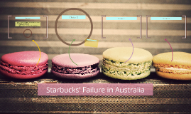 Starbucks' Failure in Australia