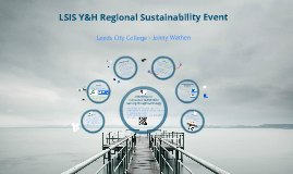 LSIS Y&H Regional Sustainability Event