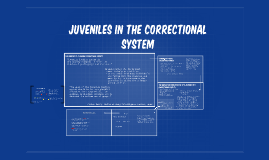 jUVENILES IN THE Correctional system