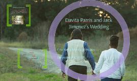 Davita Parris and Jack Jimenez's Wedding