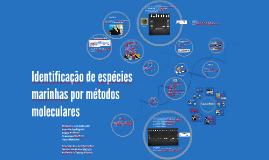 Identificação de espécies marinhas por métodos moleculares