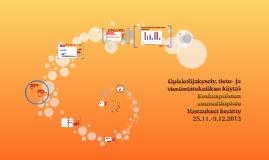 Tieto- ja tietoviestintätekniikan opiskelijakysely