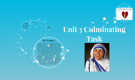 Copy of Unit 3 Culminating Task