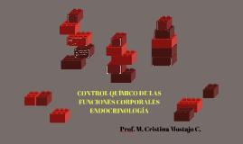CONTROL QUIMICO DE LAS FUNCIONES CORPORALES