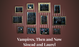 Vampires Then and Now