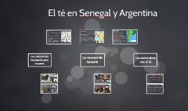 El té en Senegal y Argentina