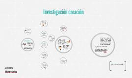 Investigación creación