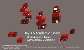 WSP U of M 2014 Essays