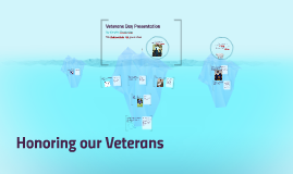 Copy of Honoring our Veterans