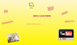 Devotions: BE A GOOD FRIEND :)