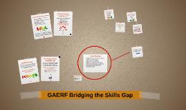 GAERF Bridging the Skills Gap
