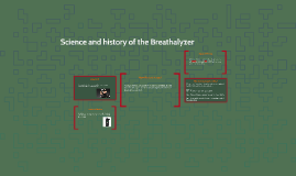 Science of a Breathalizer