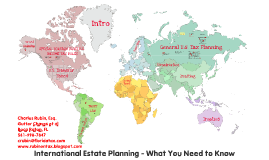 What Every International Estate Planner Should Know