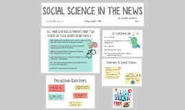 Social Science in the News