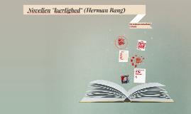 """Copy of Novellen """"kærlighed"""" (Af Herman Bang)"""