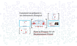 (Bilingue) VS 2- How to Prepare for an Employment Event