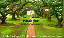 Copy of PRIMEROS AUXILIOS PSICOLOGICOS