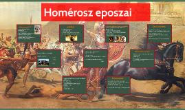 Homérosz eposzai