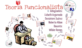 Copy of Teoría Funcionalista