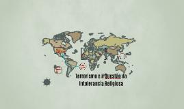 Terrorismo e a Questão da Intolerância Religiosa