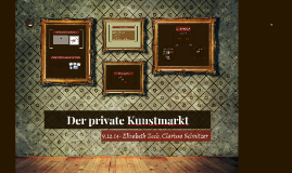 Der private Kunstmarkt
