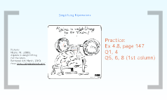 Copy of Simplifying Expressions