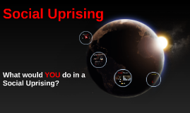 What would you do in a Social Uprising?