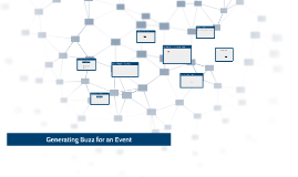 Generating Buzz for an Event