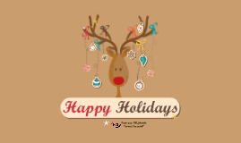 Happy Holidays from VXL Americas Division