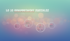 Copy of lo 10 comportment digitales