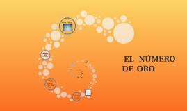 Copy of EL   NÚMERO Oro- Trabajo realizado por alumnos