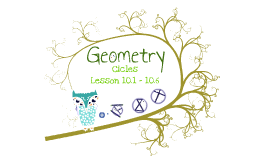 Geometry Unit:  Circle Lesson Plans