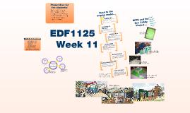 EDF 1125 Week 11