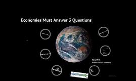 Types of Economies