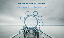 TRATA DE PERSONAS EN COLOMBIA