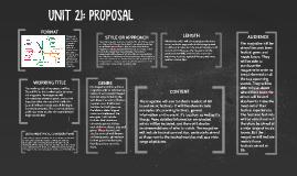 UNIT 21: PROPOSAL