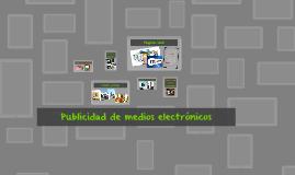 Publicidad de medios electrónicos