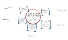 7.6.6 Practice SAT Questions