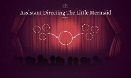 Assistant Directing The Little Mermaid