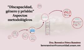 Discapacidad, género y prisión