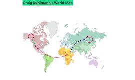 Craig Kuhlmann's World Map