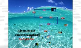 Adaptações ao ambiente aquático