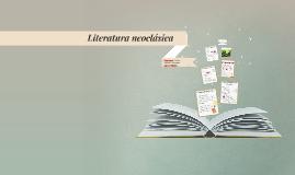 Literatura Neoclásica